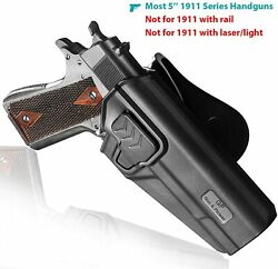 OWB Polymer retention Universal Holster fits most 45 ACP 9mm40 1911 pistols $26.55