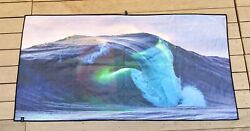 Slowtide Beach Towel in collaboration with Clark Little Beach Rip Curl Wave $39.95