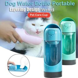 Dog Container Drinking Dog Feeder Water Dispenser Water Bottle Water cup $22.07