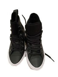 Converse All Star High Top Weatherproof Leather Brand New No Box Size 8 $40.00