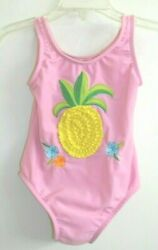 Sand amp; Sun size 3T Girls Pink One Piece Swimsuit with Pineapple $7.50