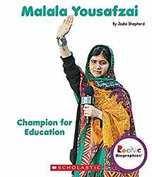Malala Yousafzai: Champion for Education Rookie Biographies Hardcover $5.36