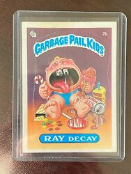 1985 Garbage Pail Kids Series 1 #2b Ray Decay Glossy $12.99