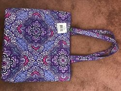 Vera Bradley Lilac Tapestry Tote Bag Very Clean Excellent Used Condition $26.00