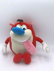 Nickelodeon Ren and Stimpy Show 10quot; Vintage Plush Toy Doll Stimpy Mattel 1992 $25.99