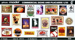 Plus Model 1 35 Commercial Signs and Placards