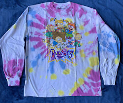 Nickelodeon Rugrats Tie Dye Long Sleeve T Shirt Size SMMD And LG $18.00
