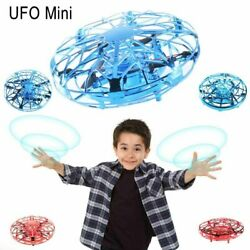 UFO Mini Drone Hand Operated Levitation Quad Induction Flying Toys Kids Gift $10.96
