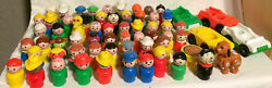 You Choose Vintage Fisher Price Little People 60 Different Figures Sesame St $9.99