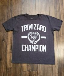 Harry Potter Shirt Triwizard Champion Large Gray Official Gryffindor $12.00