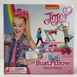 JOJO SIWA BUST A BOW Game DANCE MAT Dice 12 HAIR BOWS Sticker NICKELODEON GAMES $17.98
