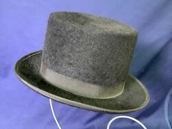 Top Hat Black Designer Collection Size Small Morris 100% Wool