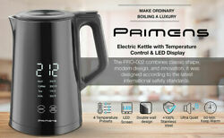 Primens PR 1002 LED Stainless Inner Wall Electric Kettle Coffee Tea Pot $38.99