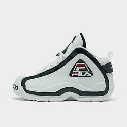 FILA Grant Hill 2 Mid 96 White Fila Navy Fila Red 1BM00866 12 MEN SZ: 8 13 NEW $199.99