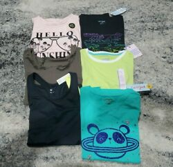 Girls Mix Clothes Lot Size L 10 12 Shirts Tops Tank Art Class All In Motion NWT $26.99