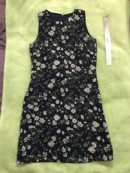 Old Navy Womens Sundress Summer Multicolor Floral Print Shift Sleeveless Size 2 $8.99
