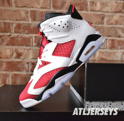2021 Nike Air Jordan 6 Retro Carmine GS Men CT8529 106 $189.99