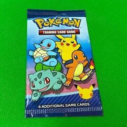 2021 McDonald's Pokemon 25th Anniversary Trading Cards Happy Meal Packs x1 $5.88