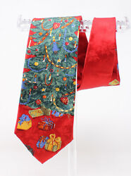 Wembley TIE Christmas Novelty Red Green Christmas Tree Presents $6.99