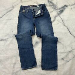 Cruel Girl Low Rise Jeans Size 13 X Long Juniors Button Fly Equestrian Western $31.92