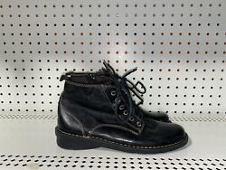 Clarks Nikki North Womens Leather Side Zip Ankle Boots Booties Size 6.5 M Black $50.00