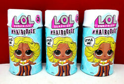 LOL Surprise Series 2 #Hairgoals Big Sister Doll ReMix Lot Of 3 Brand New $39.50