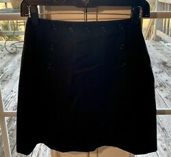 THE LIMITED $78 Black Classic Mini Suit Skirt 2 XS NEW $23.95