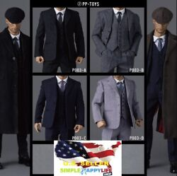1 6 Male Suit Agent WWII British Vintage For 12quot; Figure HOT TOYS PHICEN ❶USA❶ $74.99
