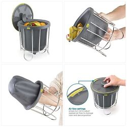 Polder Kitchen Composter Flexible silicone bucket inverts for emptying $42.52