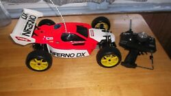 MINT VINTAGE KYOSHO INFERNO DX NOS OS MAX .21 RX R RTR 1 8 SCALE RC NITRO CAR $485.00