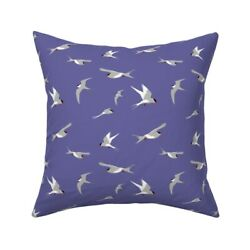 Birds Sky Flying Flight Blue Throw Pillow Cover w Optional Insert by Roostery $46.00