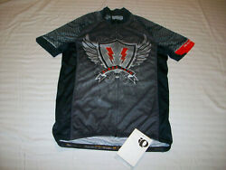 PEARL IZUMI CYCLING BICYCLE JERSEY MENS MEDIUM ROAD MOUNTAIN BIKE JERSEY NEW $48.95