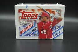 2021 Topps Baseball Series 1 SEALED BLASTER BOX 7 Packs RC Patch MORE FREE Samp;H $28.50