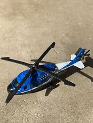 Matchbox MB01 Metro Base Police Helicopter Toy From 2001 $7.80