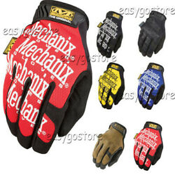 Mechanix Wear Tactical Gloves Military Army Shooting Bike Race Sports Mechanic $12.98