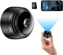 Mini Camera with 32G SD Card Wireless WiFi Small Camera 1080P HD Home Security $39.95