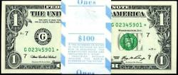 2006 $1 FRN Chicago STAR Pack 100 Cons quot; Appears Gem quot; G02345901 6000* $246.05