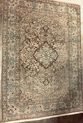 Vintage Oriental Persian Traditional Area Hand Knotted Wool Rug 10 x 7 $795.00
