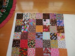 I SPY 42 5quot; Charm Pack All CANDY Novelty Quilt Fabric Squares Cotton No Dups $20.00