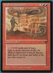 Wall of Opposition Legends MINT Red Rare MAGIC MTG CARD ID# 194873 ABUGames $22.59