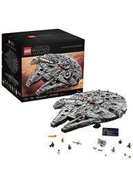 LEGO 75192 Star Wars Millennium Falcon 7541 Pieces Building Kit and Starship $799.00