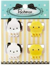 Pochacco Mini Hair Clips Set of 4 Sanrio Girls Hair Accessories $8.26