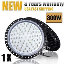 300W 300 Watt UFO LED High Bay Light Shop Lights Commercial Lighting Fixture