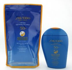 Shiseido Ultimate Sun Protector Lotion SPF50 Synchro Shield 150 ml. 5.0 oz.New $37.73
