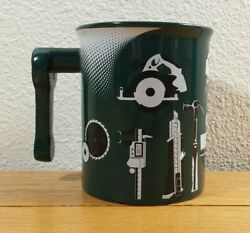 MENARDS Home Improvement Store Green Tools Hardware Advertising Coffee MUG CUP $11.99