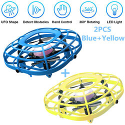 UDIRC Flying Ball Drone for Kids Hand Operated Mini Drone Toy with Fan Mode 2PCS $31.98