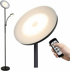 LED Torchiere Floor Lamps for Living Room Bedrooms Office with Adjustable Readin $69.95