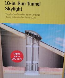 VELUX Home Sun Tunnel Tubular Skylight Rigid Low Profile w Flashing TSR 010 NEW