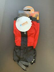 New Size Small Outdoor Designs Perma event Gaiter Red $30.00