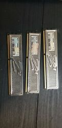 Lot of 3 OCZ 6GB 3x 2GB PC3 10666 Platinum $30.00